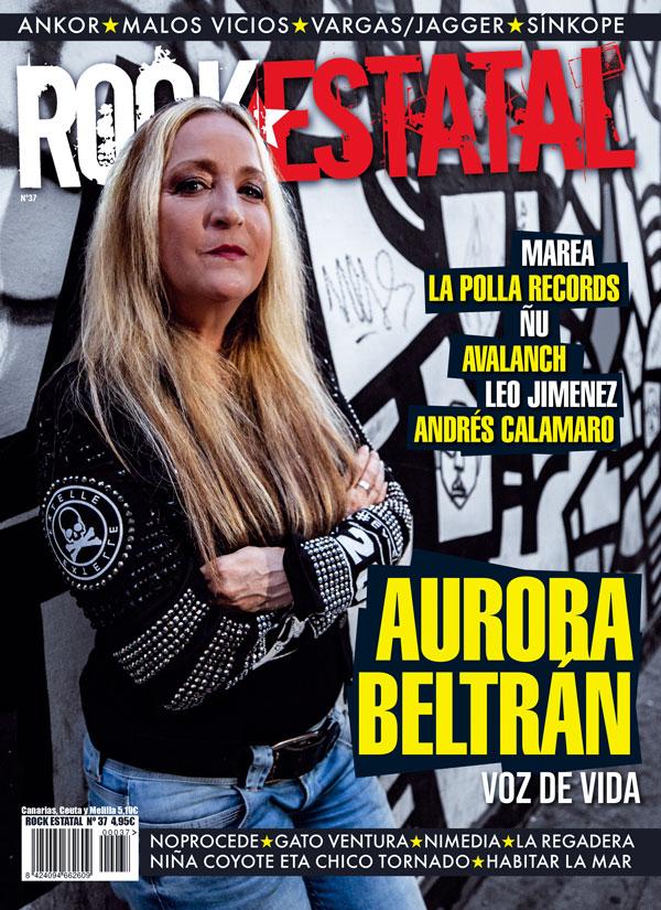 portada revista rock estatal nº37